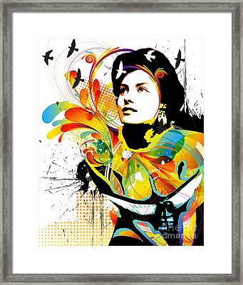 Soul Explosion I Framed Print by Chris Andruskiewicz