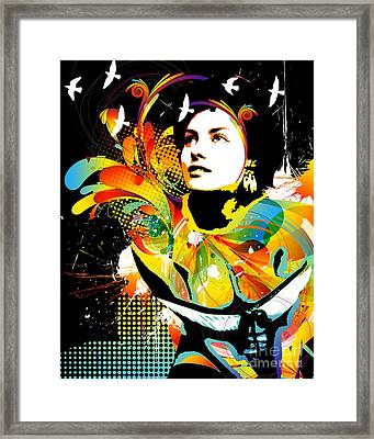 Soul Explosion II Framed Print by Chris Andruskiewicz