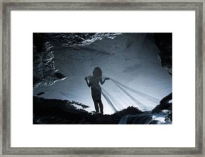 Soul Hunter Framed Print by Cambion Art