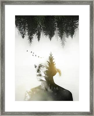 Soul Of Nature Framed Print by Nicklas Gustafsson