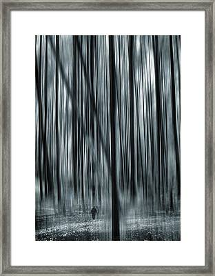 Soul Searching Framed Print by Lourry Legarde