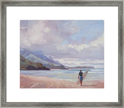 Soul Surfer Framed Print by Jenifer Prince