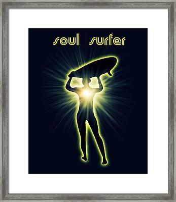 Soul Surfer Framed Print by Mark Ashkenazi