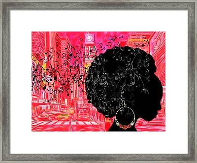 Sound Of Music Collection Framed Print by Marvin Blaine