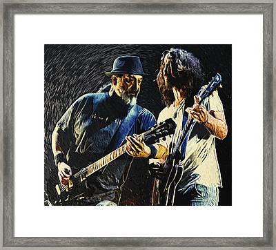Soundgarden Framed Print by Taylan Soyturk
