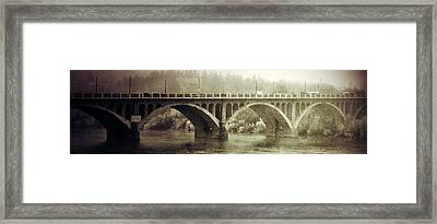 South Bridge  Framed Print by JC Photography and Art