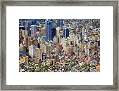 South Broad Street Philadelphia Framed Print by Duncan Pearson