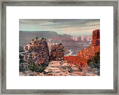 South Rim Framed Print by Donald Maier