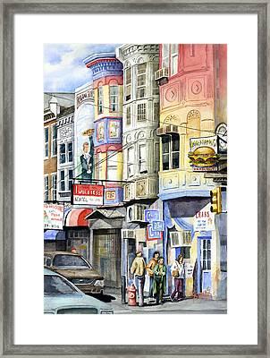 South Street Framed Print by Sam Sidders