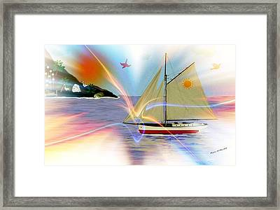 South Winds Framed Print by Madeline  Allen - SmudgeArt