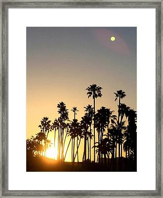 Southern California Sunrise Framed Print by Art Block Collections