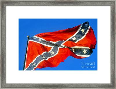 Southern Heritage Framed Print by David Lee Thompson
