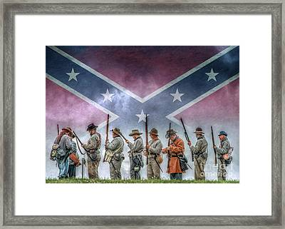 Southern Heritage Southern Pride Framed Print by Randy Steele