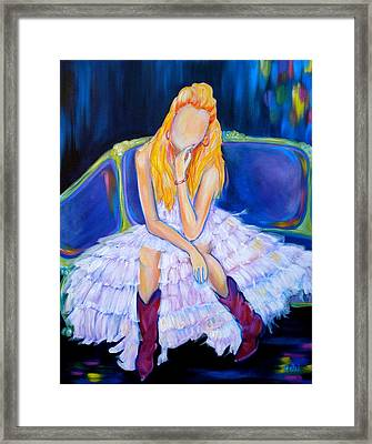 Southern Sass Framed Print by Debi Starr