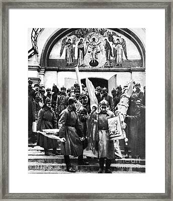 Soviet Anti-religion Policy Framed Print by Granger