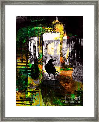 Space And Time Framed Print by Robert Ball