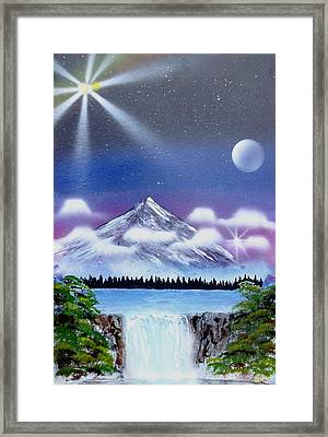 Space Art Framed Print by Lane Owen