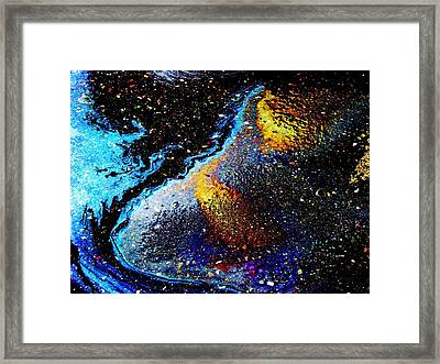 Space Boot Framed Print by Samuel Sheats