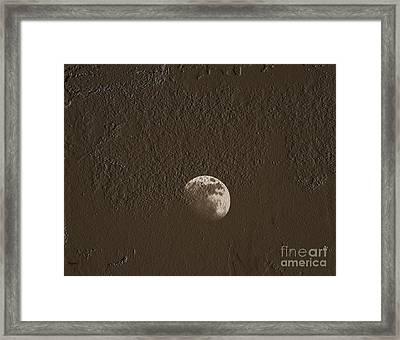Space Dirt  Framed Print by Steven  Digman