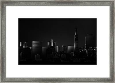 Space II Framed Print by Juan Pablo De