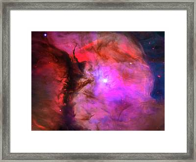 Space Image Orion In Miniature Framed Print by Matthias Hauser
