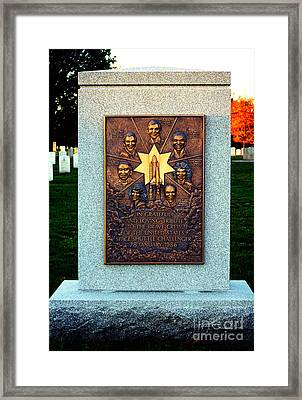 Space Shuttle Challenger Memorial Framed Print by Clayton Bruster