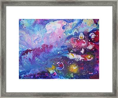 Space Travel 1 Framed Print by Bitten Kari