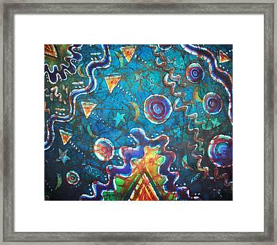 Spacious Skies Framed Print by Sue Duda