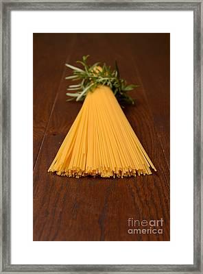 Spaghetti Framed Print by Andreas Berheide