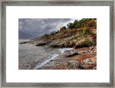 Spangereid Beach Framed Print by Carsten Kopp