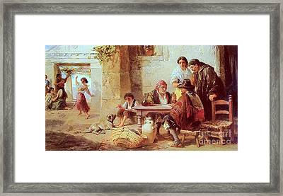 Spanish Amusements  Framed Print by MotionAge Designs