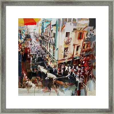 Spanish Culture 11 Framed Print by Corporate Art Task Force