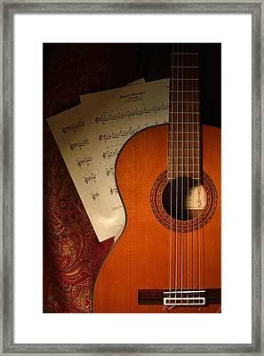 Flamenco Guitar - Spanish Romance / Spanish Guitar Framed Print by D S Images