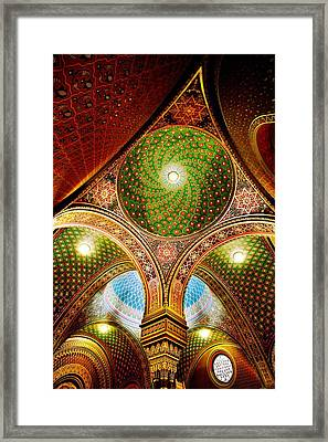 Spanish Synagogue Framed Print by John Galbo