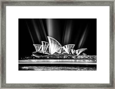 Sparkling Framed Print by Az Jackson