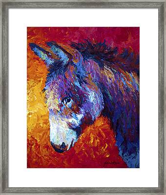 Sparky Framed Print by Marion Rose
