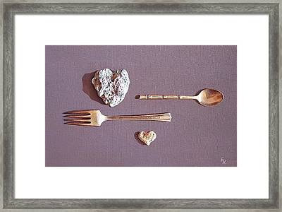 Spat Framed Print by Elena Kolotusha