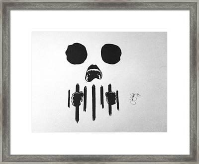 Speak No Evil Framed Print by Josh Yaros