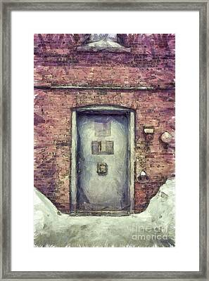 Speakeasy Pencil Framed Print by Edward Fielding