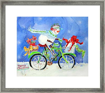 Special Delivery Framed Print by Suzy Pal Powell