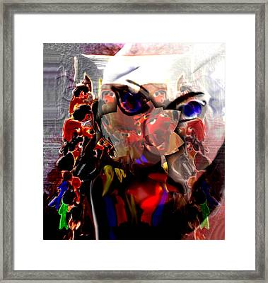 Spectacle Framed Print by Marcia Kaye Rogers