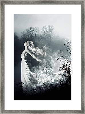 Spectral Framed Print by Cambion Art