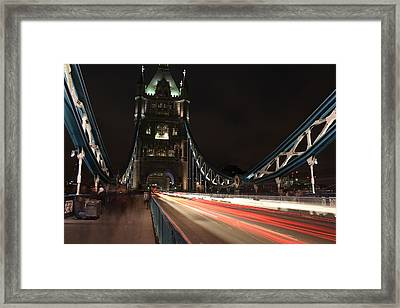 Speed Framed Print by Andrea Guariglia