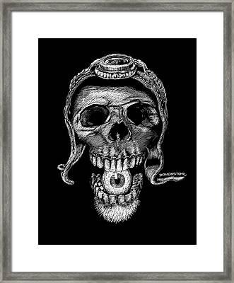 Speed Freak Framed Print by Bomonster