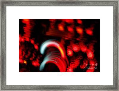 Speed Framed Print by Xn Tyler