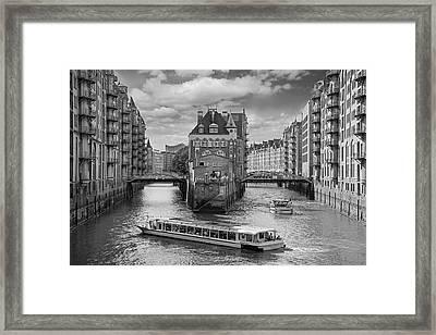 Speicherstadt-hamburg Framed Print by Robert Lacy