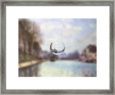 Sphere 23 Sisley Framed Print by David Bridburg