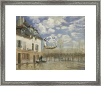 Sphere 25 Sisley Framed Print by David Bridburg