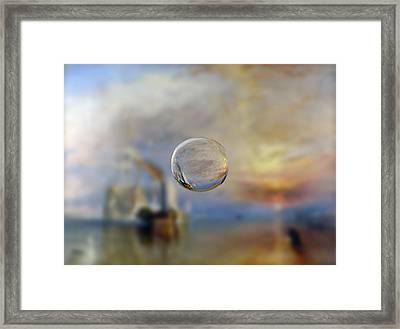 Sphere 6 Turner Framed Print by David Bridburg