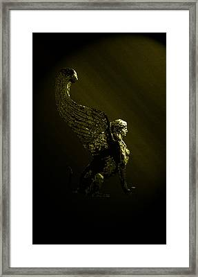 Sphinx Framed Print by Laura Greco